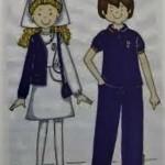 uniforme dibujo